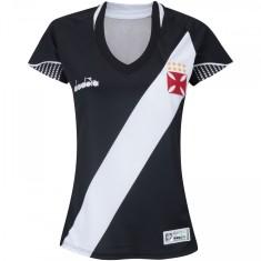 Camisa Feminina Vasco da Gama I 2018 19 Torcedor Feminino Diadora df714b91119c8