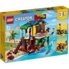 Imagem de Lego Creator 3x1 A Casa De Praia De Surfista 31118