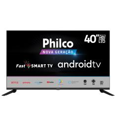 "Smart TV LED 40"" Philco Full HD PTV40G71AGBL 2 HDMI"