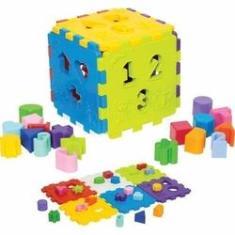 Imagem de Cubo Didatico Com Blocos Merco Toys