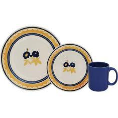 Imagem de Aparelho de Jantar 12 Peças Oxford Biona Giardino