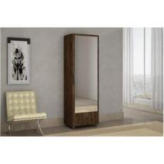 Imagem de Sapateira Milao com Espelho Imbuia Chf Móveis