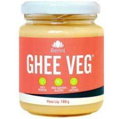 Imagem de Manteiga Ghee 180g Vegana da Benni Alimentos