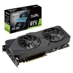 Placa de Video NVIDIA GeForce RTX 2080 Super 8 GB GDDR6 256 Bits Asus DUAL-RTX2080S-O8G-EVO