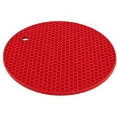 Imagem de Descanso De Panela Silicone Protetor Térmico Antiaderente