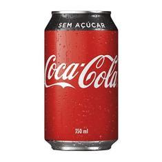 Imagem de Refrigerante Coca Cola Zero Lata 350ml