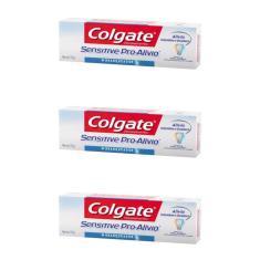 Imagem de Colgate Sensitive Creme Dental Branqueador 110g (Kit C/03)