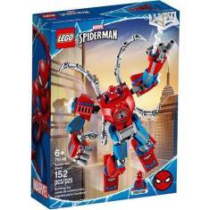 Imagem de Lego Marvel Super Heroes Robô Spider Man Com 152 Peças 76146
