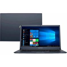 "Notebook Positivo Motion Q4128B Intel Atom 14"" 4GB eMMC 128 GB Windows 10 Wi-Fi"