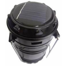 Imagem de Lampiao Solar De Led Portatil Com USB E Bateria Recarregavel Luminaria Lanterna