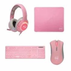 Imagem de Combo Gamer Dazz 4 Em 1 Teclado Mouse Mousepad, Headset