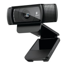 WebCam Logitech HD Pro 15 MP Filma em Full HD C920