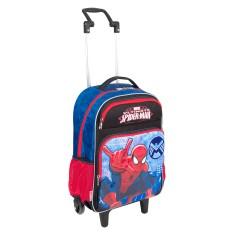 Imagem de Mochila com Rodinhas Escolar Sestini Spiderman 16Y01 G 64219