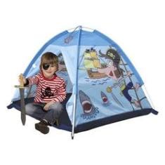 Imagem de Barraca Toca Infantil Cabana Esconderijo Pirata Menino 112cm