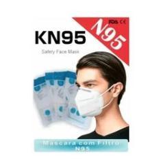 Imagem de Mascara N95 Cirurgica Respiratória  KN95 - 20 Unidades