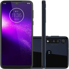 Smartphone Motorola One Macro XT2016-2 64GB Android Câmera Tripla