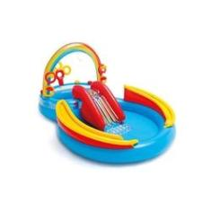Imagem de Piscina Inflável Infantil Intex Arco-Íris Playground