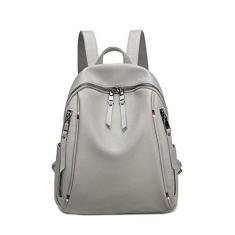 Imagem de ForHe Mochila feminina de couro macio para viagem, mochila escolar, bolsa de ombro para meninas,