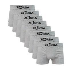 Imagem de Kit Com 8 Cuecas Boxer Algodão Sem Costura Zorba 781