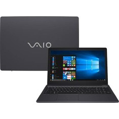 "Notebook Vaio Fit 15S Intel Core i7 7500U 7ª Geração 4GB de RAM SSD 128 GB 15,6"" Windows 10 VJF155F11X-B5511B"