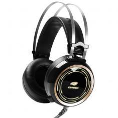 Headset com Microfone C3 Tech Black Kite PH-G310BK