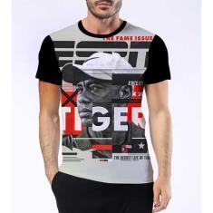 Imagem de Camisa Camiseta Tiger Woods Melhor Jogador Golfe Esporte 4