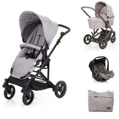 Imagem de Travel System com Bebê Conforto e Moisés COMO4 Wover Gray () - ABC Design