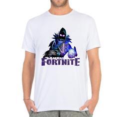 Imagem de Camiseta masculina Fortnite logo laranja battle royale
