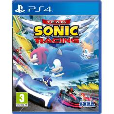 Jogo Team Sonic Racing PS4 Sega