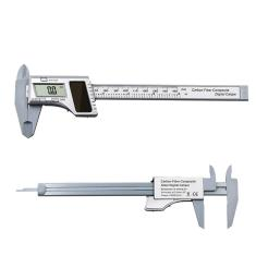 Imagem de Paquímetro Eletrônico Plástico Psto Solar De 0-150mm Com Indicação Digital