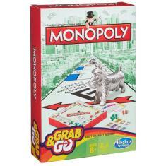 Imagem de Jogo Monopoly Grab & Go Hasbro