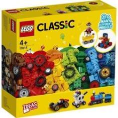 Imagem de Lego Classic Tijolos e Rodas 653 Peças Original - 11014