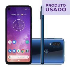 Smartphone Motorola One Vision Usado 128GB Android Câmera Dupla