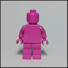 Imagem de Lego Monochrome Minifigures Minifiguras Monocromáticas R3