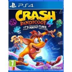 Jogo Crash 4: It´s About Time PS4 Activision