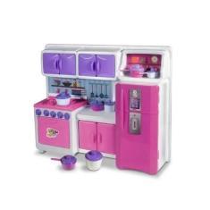 Imagem de Brinquedo Cozinha Infantil Coleção Cristal Lua De Cristal