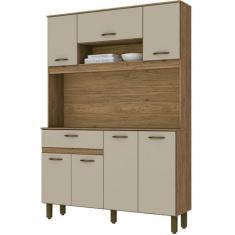 Cozinha Compacta 1 Gaveta 7 Portas B114 Briz