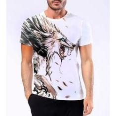 Imagem de Camiseta Camisa Lobisomem Licantropo Homem Lobo Mitologia 5