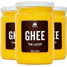 Imagem de Kit 3 Manteiga Ghee Benni Alimentos 500g