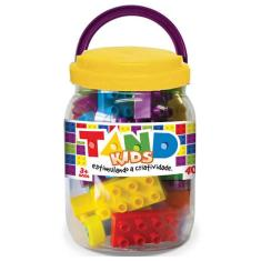 Imagem de Blocos De Montar Tand Kids Pote 40 Peças Toyster
