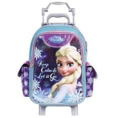 Mochila com Rodinhas Escolar Dermiwil Disney Frozen G 37107