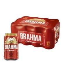 Imagem de Cerveja Brahma Chopp Lata 350ml CX 12 UN
