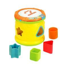 Imagem de Tambor Musical Infantil Yes Toys 0713-55 ABC Com Luzes