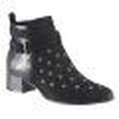 Imagem de Bota Ankle Boot Ramarim Total Comfort 17-59102 -  (camurça Plus/python)