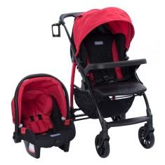 Carrinho de Bebê Travel System com Bebê Conforto Burigotto Módulo