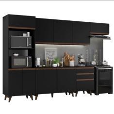 Cozinha Completa 3 Gavetas 9 Portas Reims 320001 Madesa