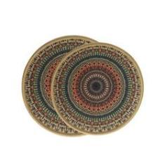 Jogo de descanso de panela Kacyumara 343212/6 2 peças