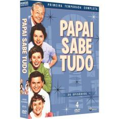 Imagem de Papai Sabe Tudo Primeira Temporada Completa 4 Dvds
