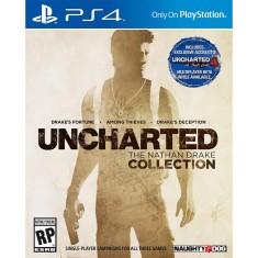 Jogo Uncharted The Nathan Drake Collection PS4 Naughty Dog
