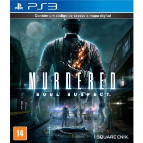 Jogo Murdered: Soul Suspect PlayStation 3 Square Enix